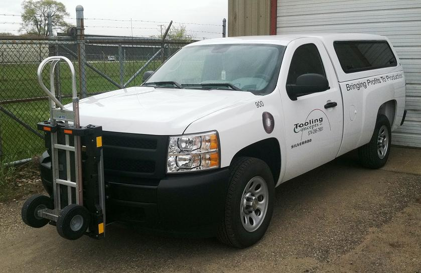 Chevy Silverado pick up w/ HTS-10T Ultra-Rack