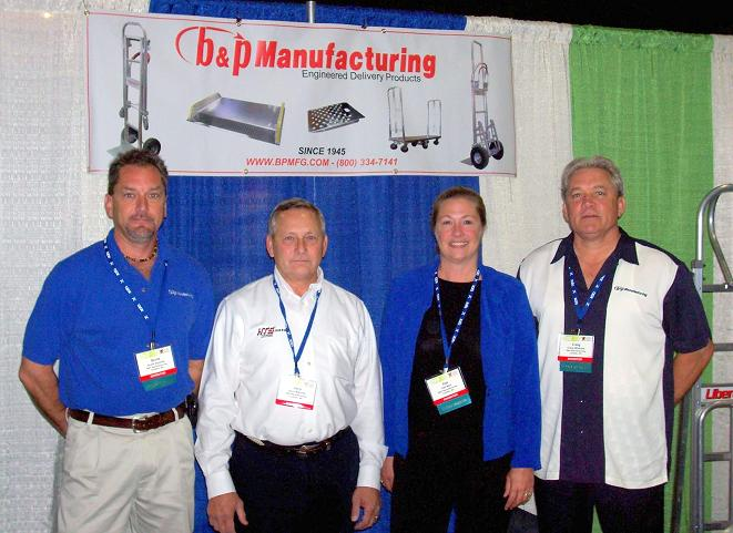 B&P Manufacturing - HTS Systems - IFDA Trade Show