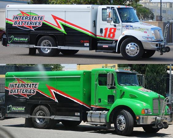 Interstate Batteries Navistar and Kenworth T300