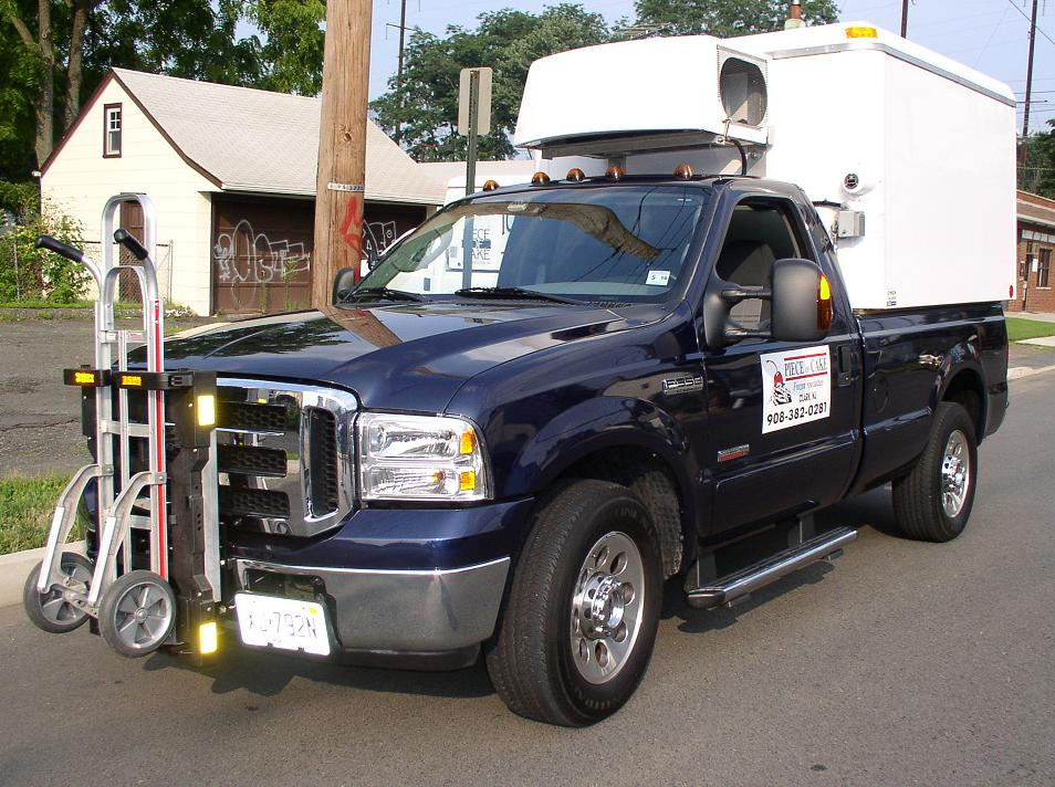 2007 Ford F350  Piece of Cake Frozen Specialties - Rahway NJ - HTS-10T