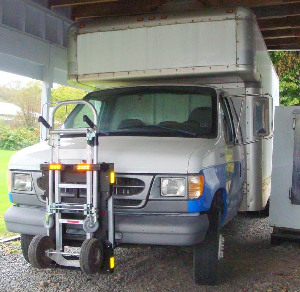 1999 Ford Econoline E350 Cargo Exterior: HTS Systems Lock N Roll, LLC.- Hand