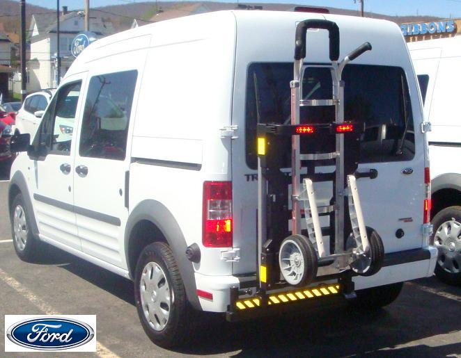 Ford Transit Connect mini cargo van with HTS-20SFT