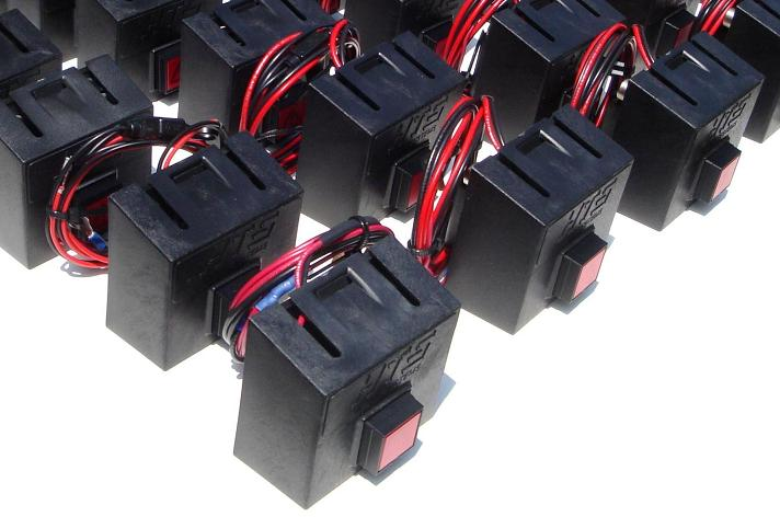 HTS Systems' IDEC LED momentary switches